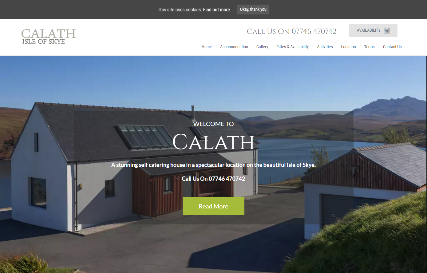 Calath (Self Catering)- Skye
